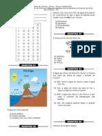 Simulado 8 - (3º Ano E.F - Ciências)- (Blog Do Prof. Warles)