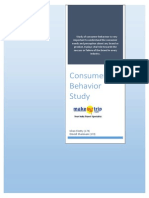 Consumer Behavior Project_MakeMyTrip
