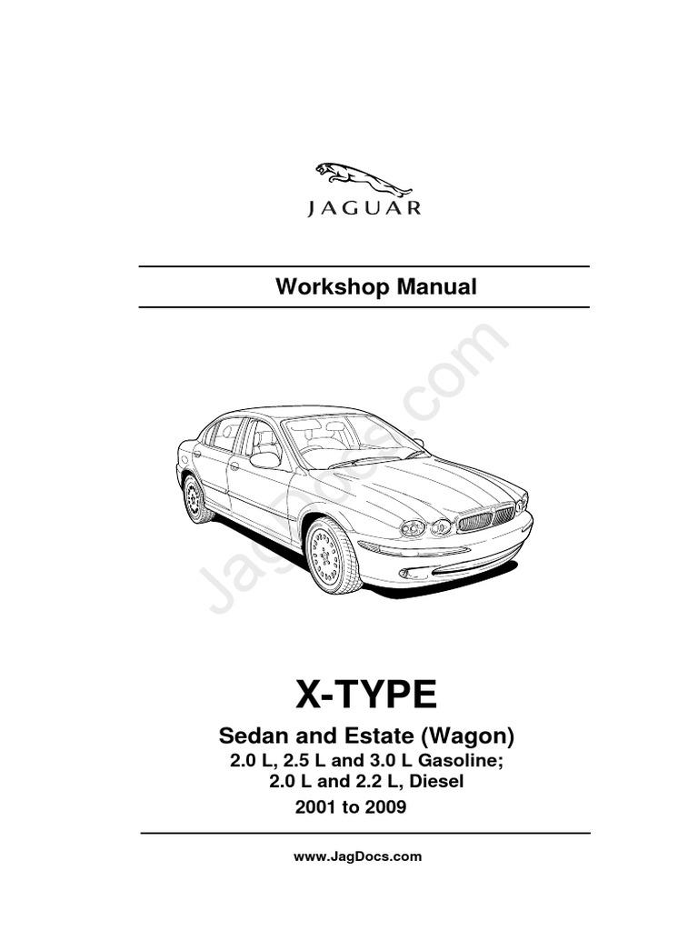 Jaguar xtype workshopmanual fandeluxe Image collections