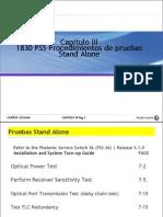 Capitulo III PSS Procedimientos de Pruebas Stand Alone