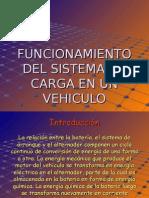 sistema de Carga y Arranque Del Automovil