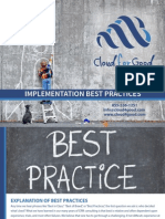 ImplementImplementation Best Practices eBook ation Best Practices eBook by Cloud for Good