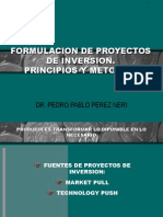 Proyectos de Inversión Principios y Metodos