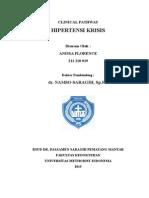 Clinical Pathway Hipertensi Krisis