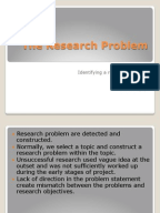 How to write an effective literature review
