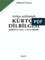 Turkish Kurdish Grammar Annotated