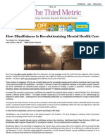 How Mindfulness is Revolutionizing Mental Health Care. Grierpdf
