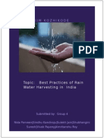 SectionD Group4 BestPractices of RainWater Harvesting in India
