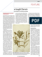 What Henslow Taught Darwin