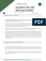 Guia 2015-16 Psicología de Las Organizaciones