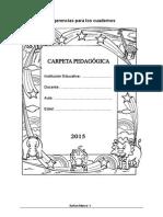 Sugerencias Para El Cuaderno - 5 Años