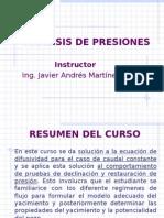 Analisis de Presiones RAYADA.ppt
