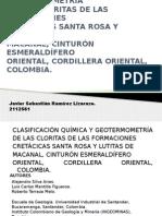 Clasificación Química y Geotermometría