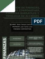 Presentación de Finanzas Corporativas y Bursátiles