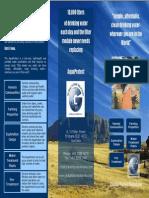 GFS AquaProtect Product Brochure