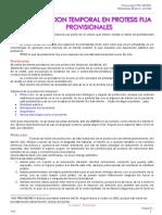 Proteccion Temporal en Protesis Fija