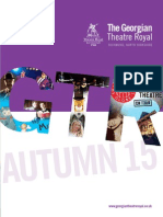 Georgian Theatre Autumn 2015