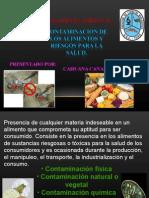 Contaminac de los Aliments Y Riesgos para la Salud.ppt