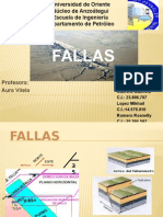 Diapositivas de Geologia Estructural Fallas