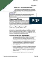 Productos y Soluciones Ericsson