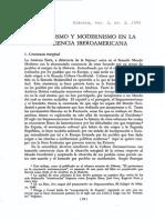 Zea, Leopoldo - Catolicismo y modernismo en la conciencia iberoamericana.
