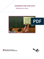 15 Sistematitzacio Codi Escrit Referents Aula 041213 MUD c
