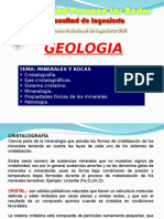 Geologia - Clase IV - Minerales y Rocas