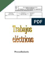 Procedimiento Electrico