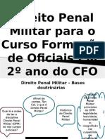Aula de Direito Penal Militar