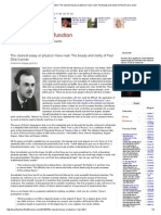 The Curious Wavefunction_ the Clearest Essay on Physics I Have Read_ the Beauty and Clarity of Paul Dirac's Prose