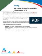 Award Scheme Criteria September 2013 v13.1(1)
