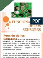 Funcionalidad de Los Sensores