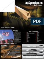 2014 Spyderco OpFocus Catalog