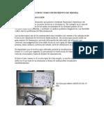 Osciloscopio Como Instrumento de Medida