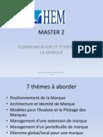 HEM-master Strat Marque- Support de Cours -2014.