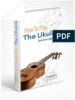 How to Play the Ukulele Quick Start Guide and More PDF