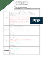 ug schedule for september 21-25 2015  1