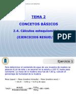 Tema 2 Problemas Calculos Estequiometricos