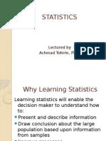 Overview Statistics