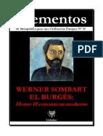 Werner Sombart El Burgues