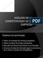 Análisis de La Competitividad de La Empresa