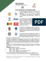 1ER TORNEO DE RUGBY UNIVERSITARIO