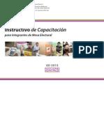 Instructivo Capacitacion CNE