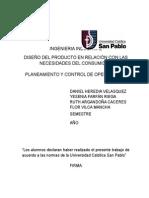 DISEÑO DEL PRODUCTO EN RELACIÓN CON LAS NECESIDADES DEL CONSUMIDOR.docx