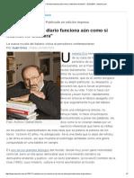 Umberto Eco_ _El Diario Funciona Aún Como Si Internet No Existiera_ - 02.04.2015 - Lanacion