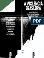 A Violência Brasileira - As raízes da violência no Brasil + Violência e espaço civil
