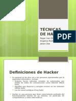 Tecnica s de Hacking