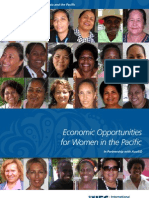 Economic Opportunities for Women in the Pacific