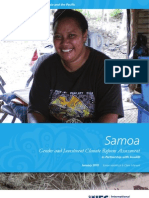 Samoa - Gender and Investment Climate Reform Assessment