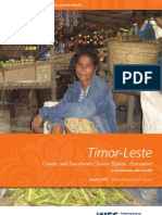 Timor-Leste - Gender and Investment Climate Reform Assessment